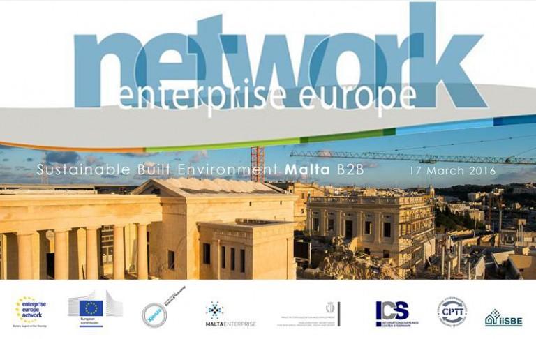Malta: conferenza internazionale sull'Edilizia sostenibile ed ambientale. Aperte le iscrizioni.