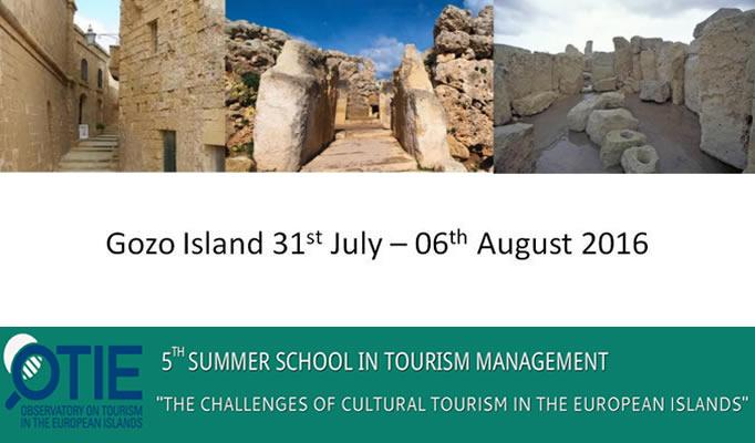 A Malta formazione sul turismo. International Summer School in Malta/Gozo.