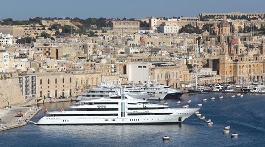 Registrare uno Yacht a Malta: vantaggi e linee guida