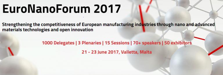 21-23 giugno, Malta – EuroNanoForum 2017