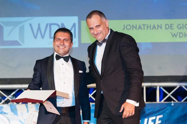 Dr. Jonathan De Giovanni, partner Malta Business, nella giuria Malta's Best Entrepreneur of the Year Awards