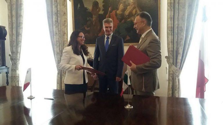 Cultura ed educazione, sottoscritto nuovo programma di collaborazione Italo-Maltese