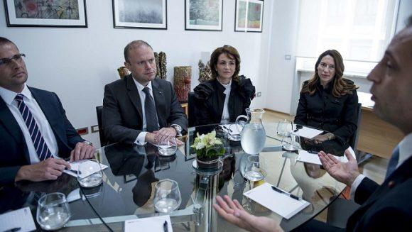 Il Primo Ministro di Malta, incontra gli imprenditori italiani a Milano