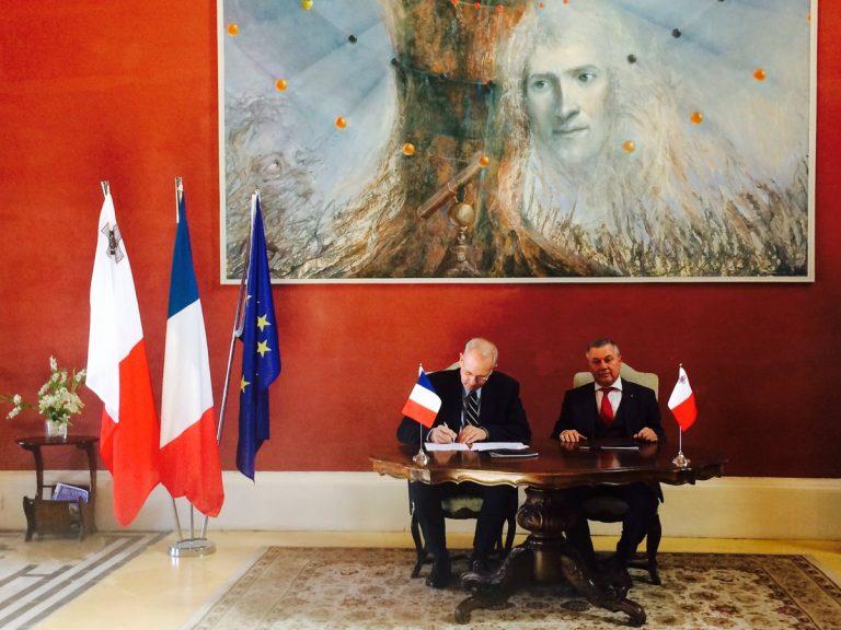 Aerospazio, Malta. Firmato accordo quadro con l'Agenzia Spaziale Francese