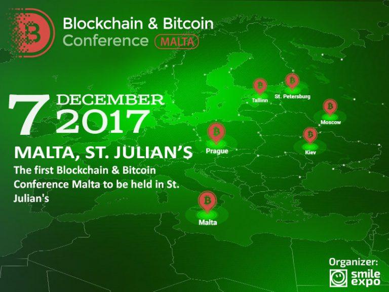 Blockchain & Bitcoin Conference sbarca a Malta
