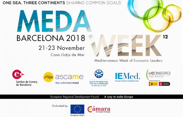 Mediterranean Week torna a Barcellona per costruire ponti con l'Africa e l'Asia.