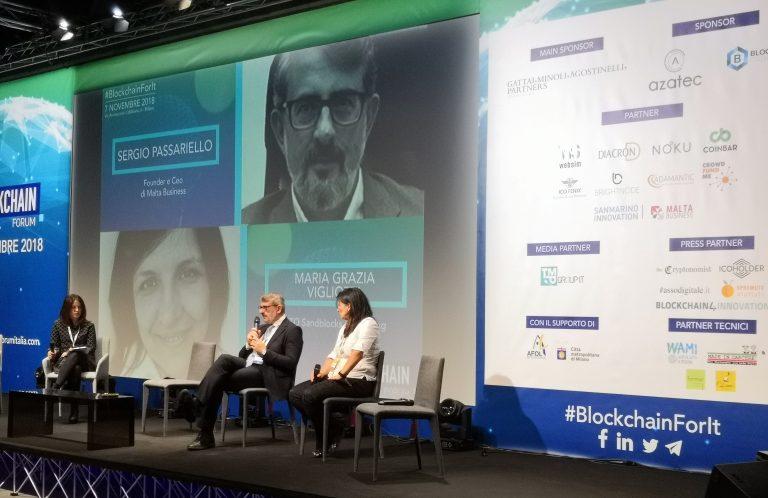 """Al via il Blockchain Forum Italia, Sergio Passariello """"creare un ponte tecnologico e finanziario tra Italia e Malta"""""""