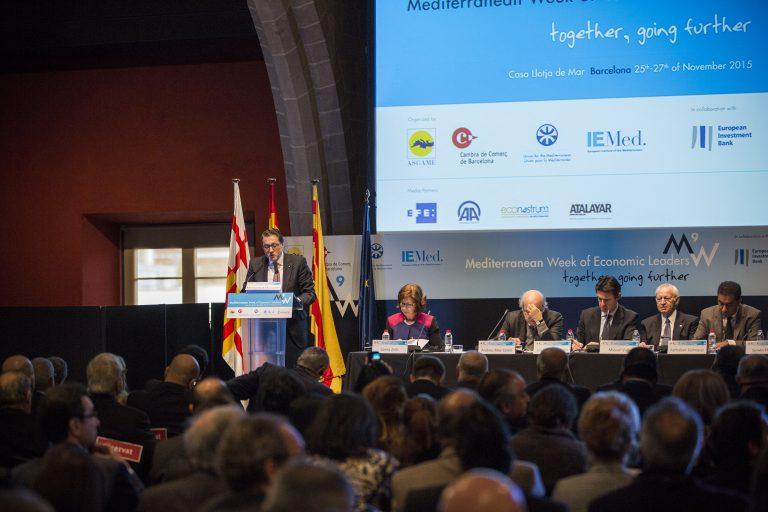 Barcellona, ospita il XV Forum per lo sviluppo economico nel Nord Africa.