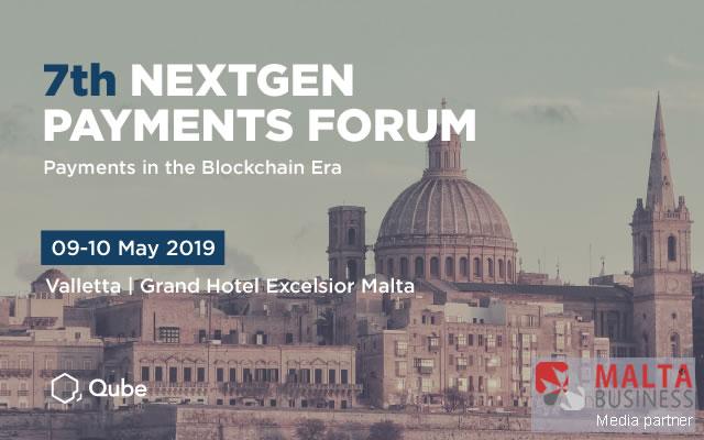 Al via il 7 ° Forum Nextgen Payments a Malta.