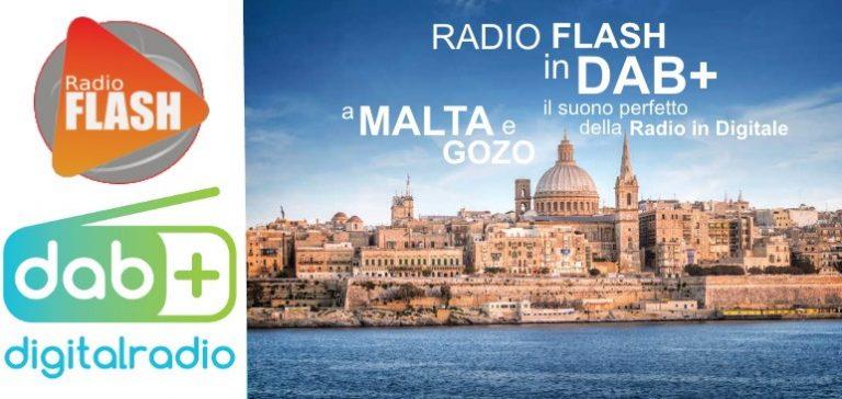 L'italiana Radio Flash trasmette in DAB+ a Malta