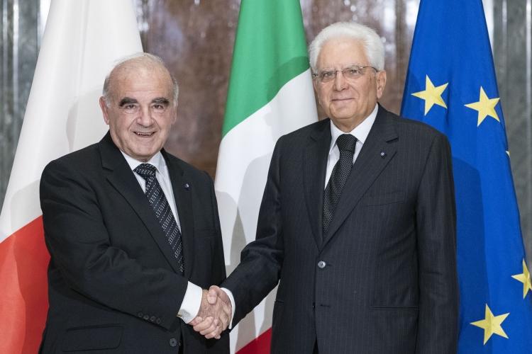 """Vella incontra Mattarella: """"Eccellenti rapporti"""""""
