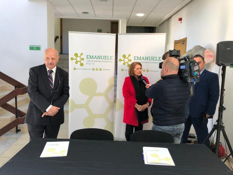 Da Malta 2,5 milioni di euro per la ricerca sul cancro