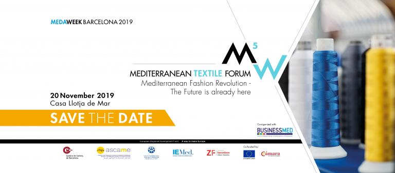 """Tessile nel Mediterraneo: il futuro è """"sostenibile"""""""