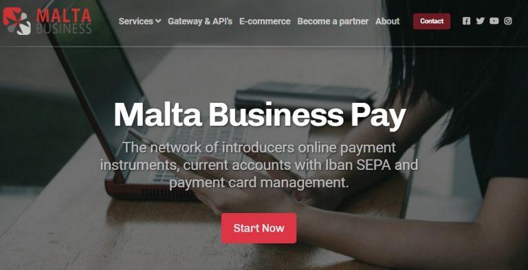 Aprire un conto corrente è facile: con Malta Business Pay