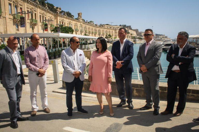 Valletta Waterfront si rifà il look per riaccogliere le crociere