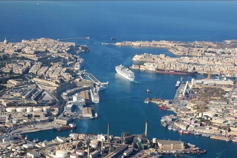 Aria pulita al Porto di Valletta: via al progetto