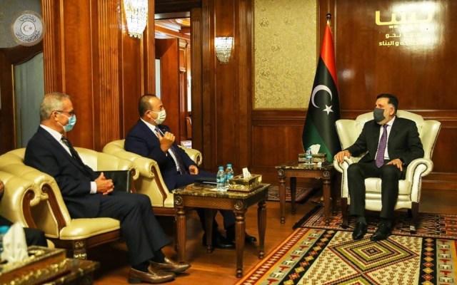 Il ministro degli Esteri maltesi incontra Sarraj in Libia