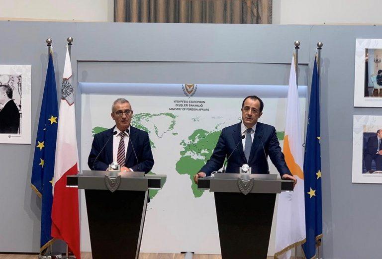 Malta-Cipro: intesa per l'apertura di ambasciate congiunte