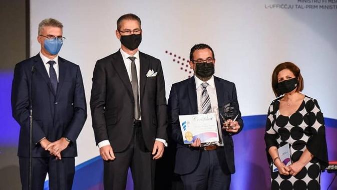 The Malta Chamber wins Employers Representative Body Award