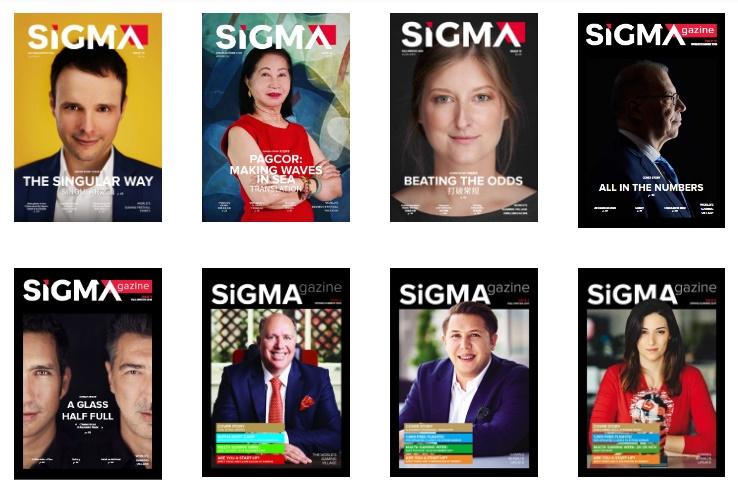 Pubblicata l'edizione 2021 di Sigma Magazine