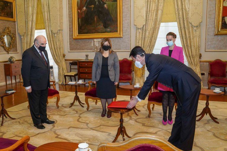 Il nuovo ambasciatore cinese a Malta presenta le credenziali
