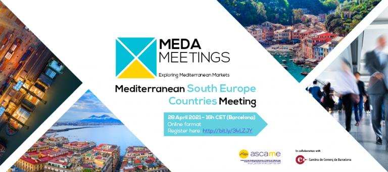 Il rilancio del Sud Europa: l'evento di ASCAME